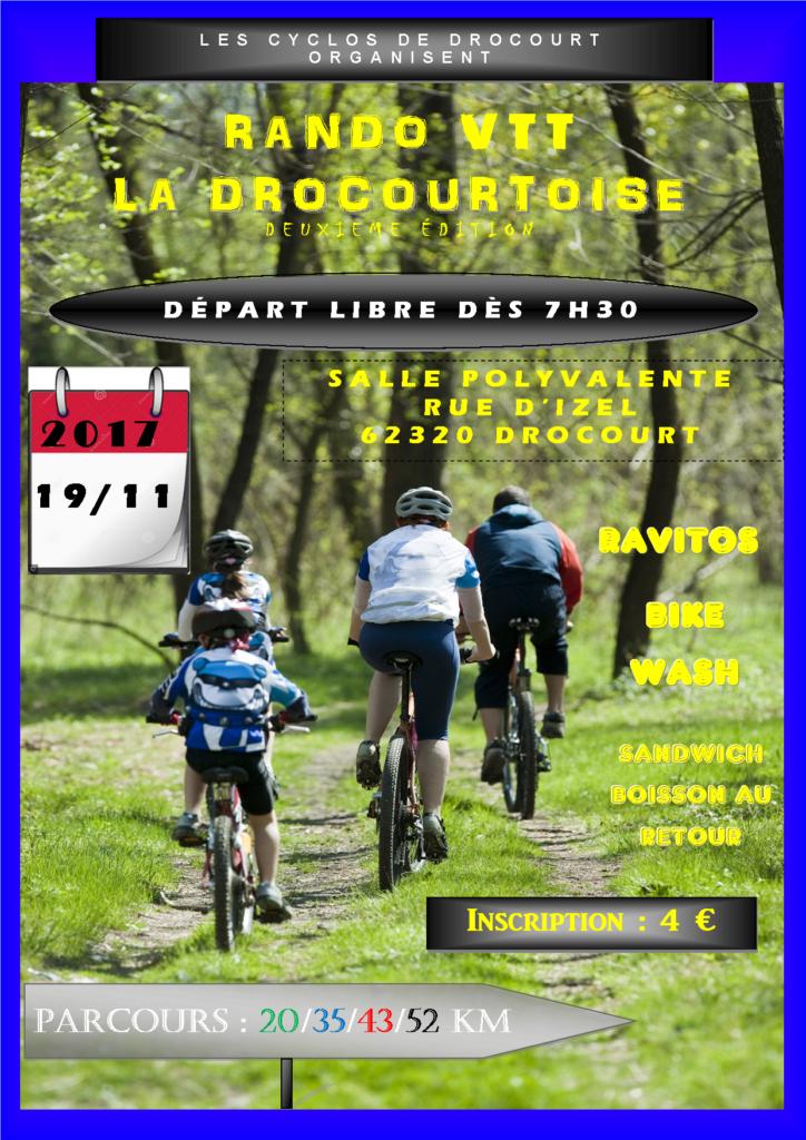 Drocourtoise ou L'Orchésienne VTT