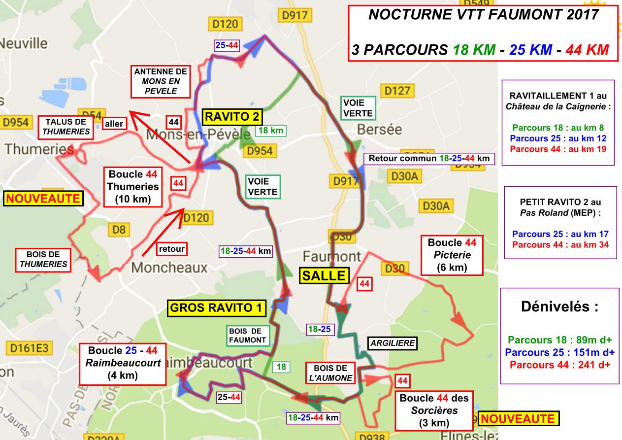 Carte 3parcours nocturne 2017 bis v loclub faumont - Nocturne foire de lyon 2017 ...
