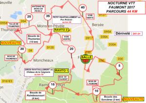 Bantouzelles - Sallaumines (VTT) - Faches-Thumesnil (Cyclo)