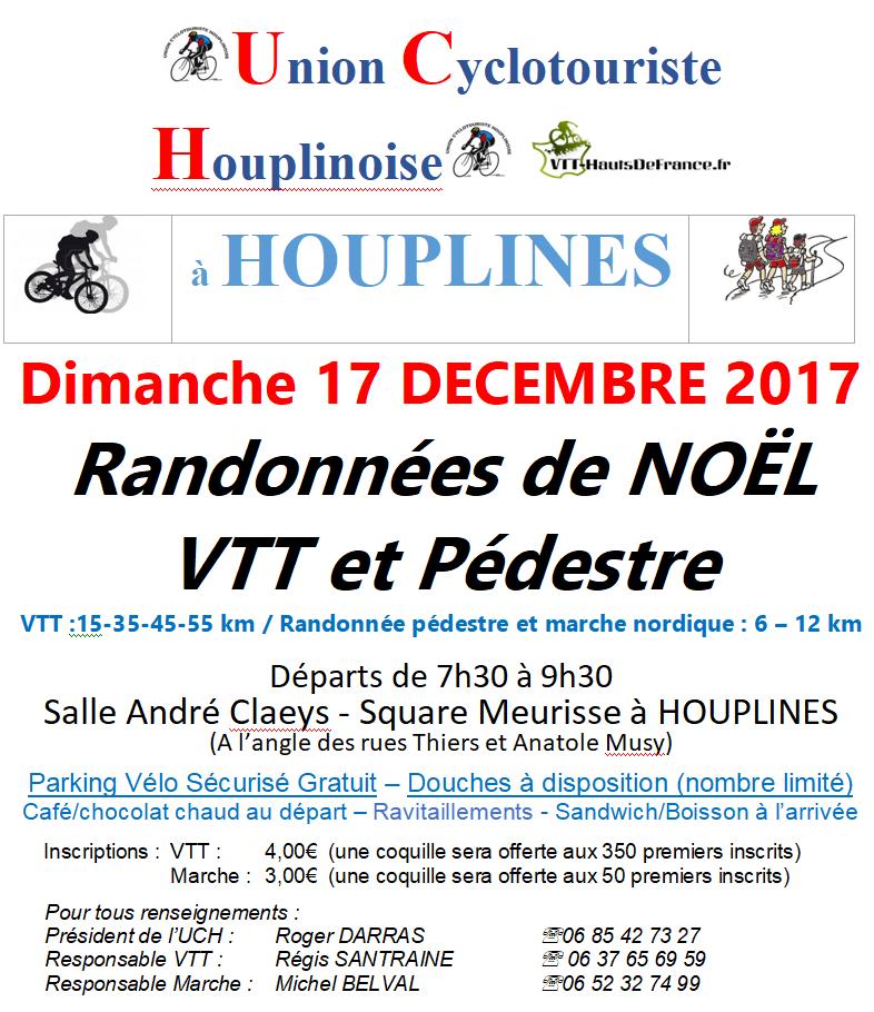 Rando de Noël à Houplines (VTT)