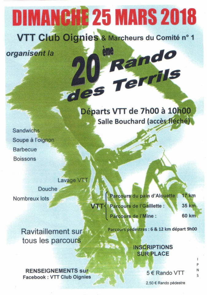 Rando des Terrils Oignies / Somainoise / Hellemmes