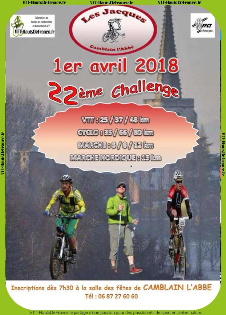 Rando des Jacques de Camblain (VTT) / Wavrin (Cyclo)