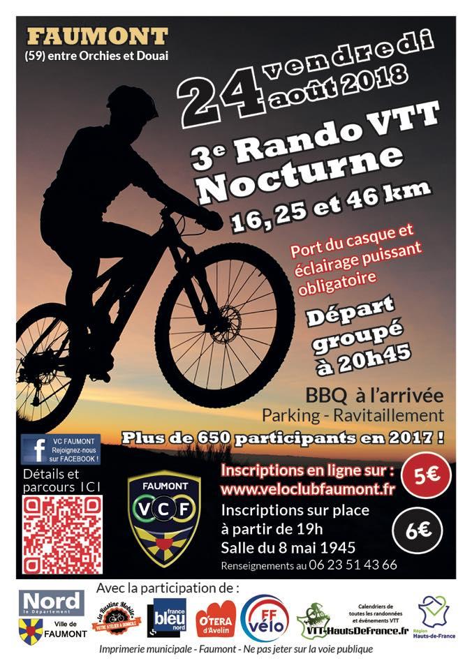 Nocturne VTT de Faumont 2018