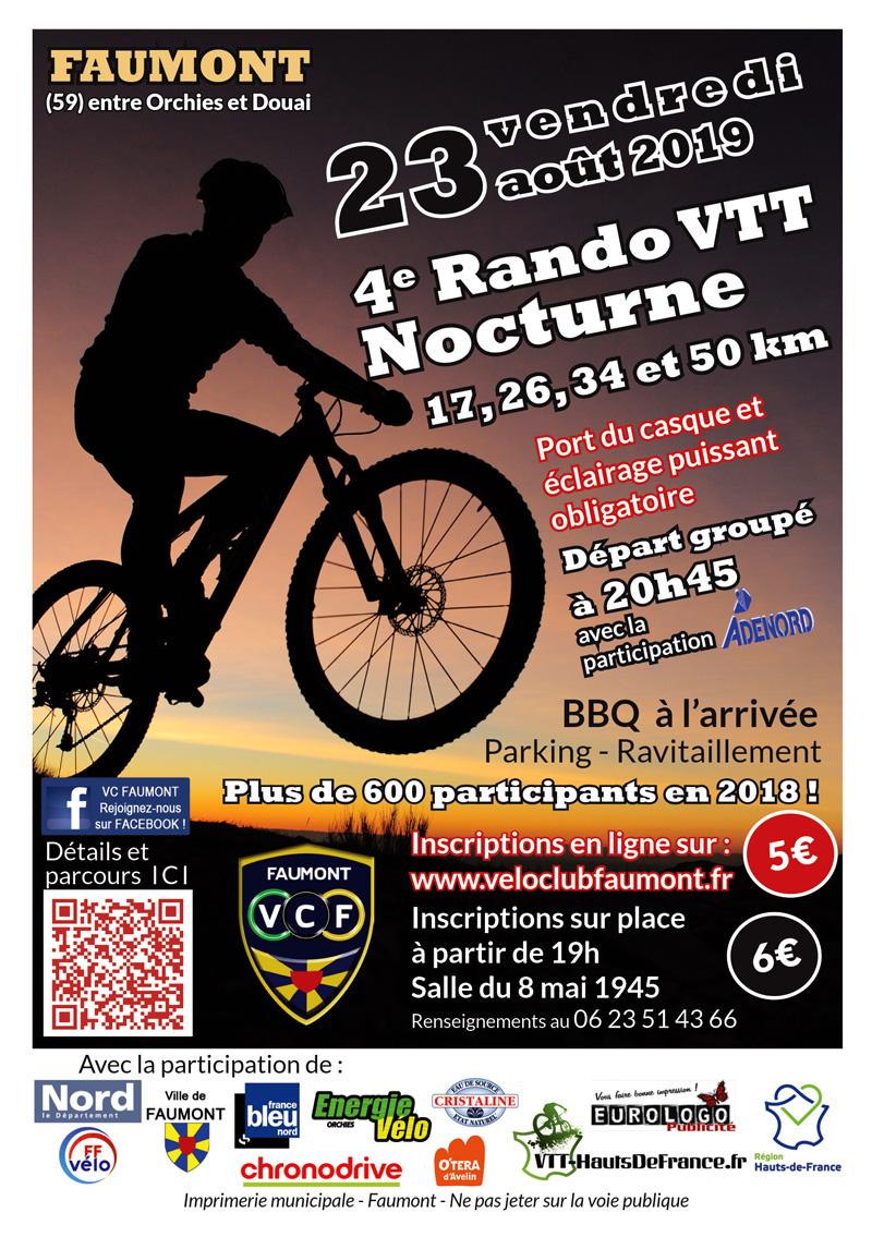 Notre Rando Nocturne VTT